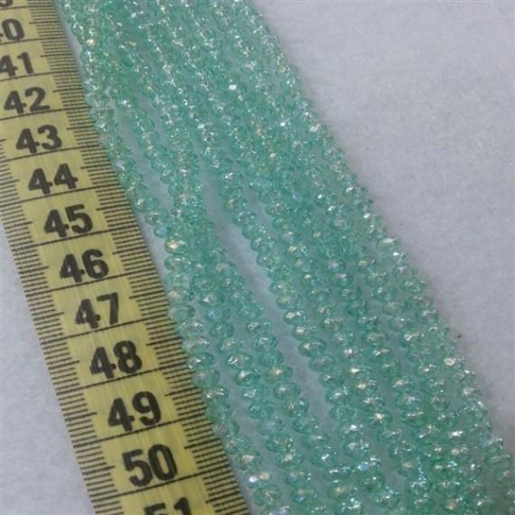 İpe Dizili Kristal Boncuk Çin Camı 4mm