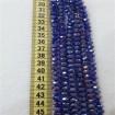 8mm İpe Dizili Kristal Boncuk Çin Camı janjan saks