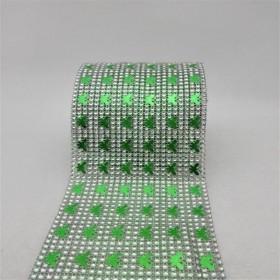 24 Sıra Şerit Kesme Taşlar - Yeşil Kelebekli