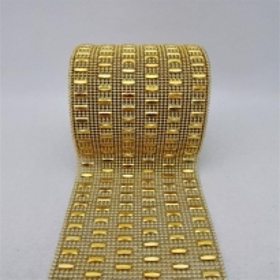 24 Sıra Şerit Kesme Taşlar - Gold