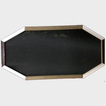 İki Ucu Yıldızlı Masa  - Yıldızlı Şömen (134x40)