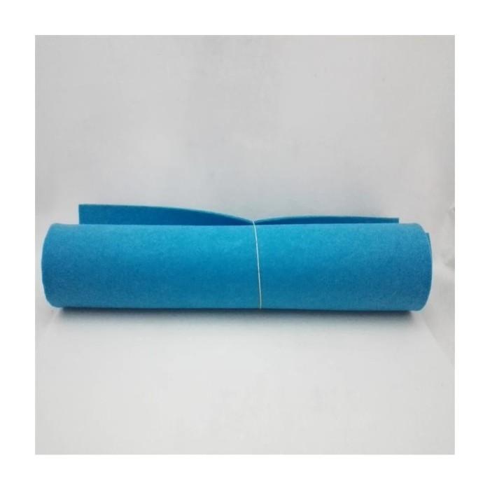 Kalın Keçeler Mavi 100x100cm
