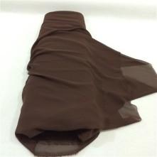 Şifon Kumaş Kahverengi