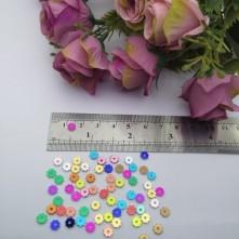 Pleksi Renkli Oyalık ve Takı Bujiteri Pulları 5mm