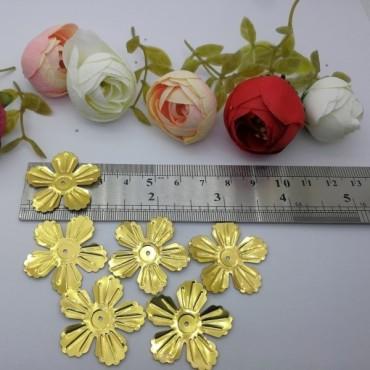 Çiçek Pul 28 mm Model 8