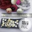 Metal Pirinç Pul - Model 277 (10x10 mm)