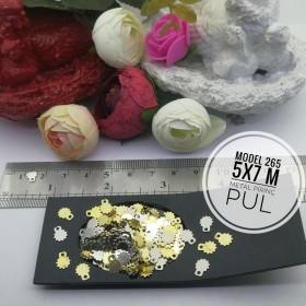 Metal Pirinç Pul - Model 265 (5x7 mm)