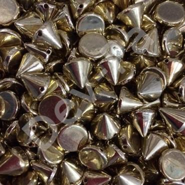 ZIMBA BONCUK APOLET ÇİVİ APARAT BONCUĞU  Gold