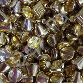 Zımba Dikme Çanta Çivi Aparat Boncuğu Küt Gold