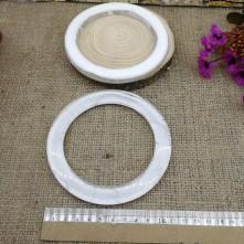 Reçine Görünümlü Çanta Sapı - Beyaz