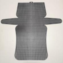 Plastik Kanvas  Canvas 22x44 cm - Siyah