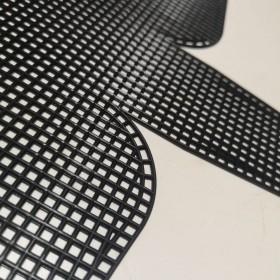 Plastik Kanvas Canvas 22x44 cm Siyah