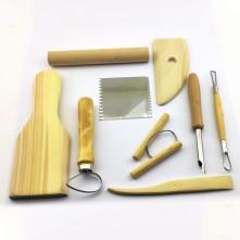 Modelaj oyma ve temizleme seti 10 parça Kod : 595