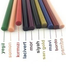 Silikon Çubuk Renkli