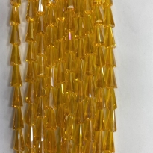 8*16 mm Deve Tabanı Damla Kristal Şeffaf Bal