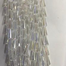 8*16 mm Deve Tabanı Damla Kristal Janjan Saks