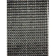 Tek Sıra Plastik Kistal Siyah