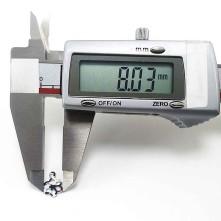 Pleksi pul içi boş papatya m 8x12 mm - 50gr