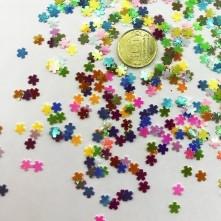 Mini Yıldız Renkli Pul Paketi