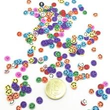 Mini Gülenyüz Emoji  Renkli Pul Paketi