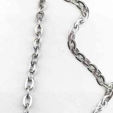 Kolye Zinciri Gümüş Kaplama 3.25mm