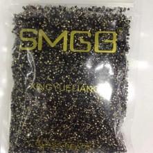 M.Y.K boncuk 2.kalite 11.0 Boyunda Kesme Gold Siyah