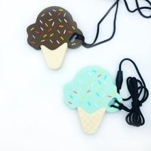Silikon Emzik Aksesuarları Diş Kaşıyıcı Külah Dondurma