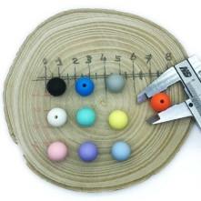 Silikon Emzik Aksesuarları 12 mm Top