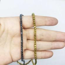 Hematit Doğal Taş 3 mm Küp
