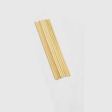 Bambu çubuk - 5 mm x 18 cm ebatlarında