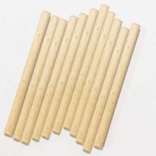 Bambu çubuk - 8 mm x 12 cm ebatlarında