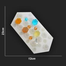 Kristal Damla Reçine Epoksi Kalıp - Çoklu Kalıp