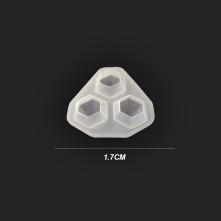 Kristal Damla Reçine Epoksi Kalıp - Küçük Boy - 63