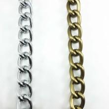 Kalın halka zincir-Gold ve Gümüş- Takı Ve Çanta