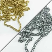 Tombul zincir gold ve gümüş - Takı Ve Çanta zincir