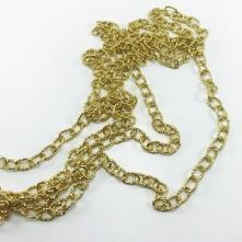 Pütürlü zincir gold - Takı Ve Çanta zincir