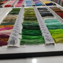 NİSA Yerli Üretim Muline 100 Renk Mix