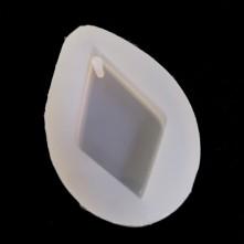 Reçine Epoksi Kalıp-delikli Baklava - E13