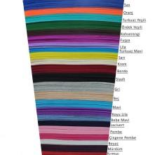 Kalın Keçeler 3/4 mm - 50x50 cm Renk Seçmeli