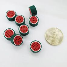 Mini Emaye Hamur Sİlikon Meyve Parçacıkları - Yuvarlak Karpuz Dilimi