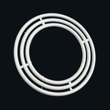 Plastik 3'lü Makrome Seti Daire Şekilli