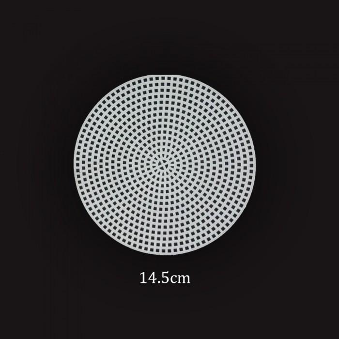 Plastik Kanvas Etamin 14.5cm Yuvarlak