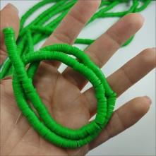 Fimo Hamur Boncuk - Fıstık Yeşili