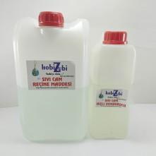 Epoksi Reçine Sıvı Cam Maddesi - 4500 ML