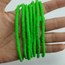 Fimo Hamur Boncuğu - Çim Yeşili 4mm
