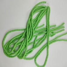 Fimo Hamur Boncuğu - Limon Yeşili Desenli 5mm