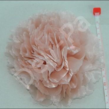Organze Saten Çiçek Modelleri 10-12 cm
