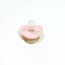 Taşlı Figürlü Emzik - Micky Mouse - Pembe