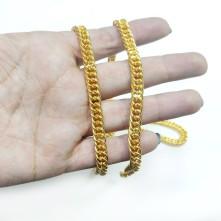 Takı Zinciri - Bileklik ve Kolye - 6.7 mm Gold