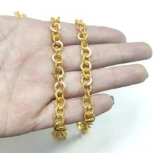 Takı Zinciri - Bileklik ve Kolye - Gold